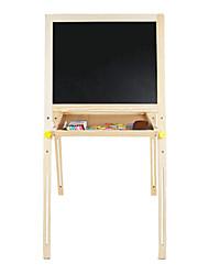 Type de levage en bois amovible costume simple, planche à dessin double face magnétique des enfants