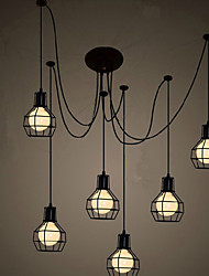 6 Lights Traditional/Classic Designers Pendant Lights Living Room / Bedroom / Dining Room / Kitchen / Study Room/Office
