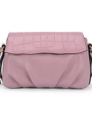Women PU Outdoor Shoulder Bag Pink / Blue / Black