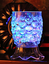 0.5 W Меняет цвета Батарея Сенсор Ночные светильники / Светодиодная посуда <5V V Пластик