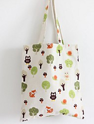 Women Canvas Casual / Shopping Shoulder Bag Green