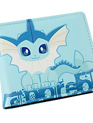 Bag / Wallets Inspired by Pocket Monster Cosplay Anime Cosplay Accessories Wallet Blue PU Leather Male / Female