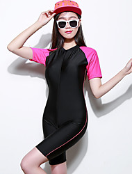 Women's Dive Skins Wetsuit Skin Shorty Wetsuits Waterproof Ultraviolet Resistant Full Body Tactel Diving Suit Short Sleeve Diving Suits-