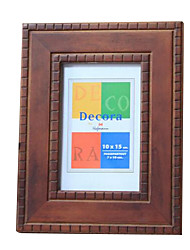 10*5 Solid Wood European/Americano Style Vintage Picture Frame