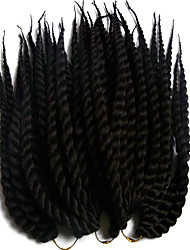 Kanekalon Twist Braids havana mambo twist crochet braid hair senegalese twist hair box braids hair