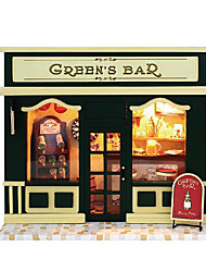 поделки хижина чи весело дом европы магазин зеленый бар лампа творческие подарки