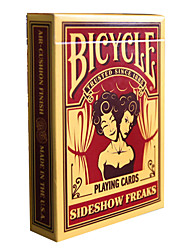 Bicycle Poker Cards Juggling Monster Magic Props Card Table Swim Suit