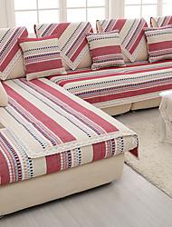 хлопок / лен старый грубый скольжению суперобложка моды четыре сезона ткани трикотажные дивана подушки красный / серый цвет