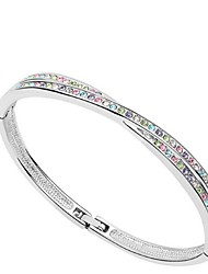 Thousands of colors Women's Cuff Bracelet Alloy Crystal-3-086