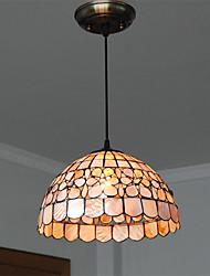 12 inch Retro Tiffany Pendant Lights Shell Shade Living Room Dining Room light Fixture