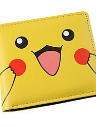inspirado pelo bolso monstrinho Pikachu pu carteira de couro