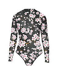 N/A Sin Mangas N/A Multicolor Terylene Lolita vestido
