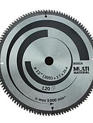 BOSCH® 14-Inch X120 Ladder Flat Teeth Tooth Carpentry Plastic Aluminum Profile Cutting Circular Saw Blade Multifunction