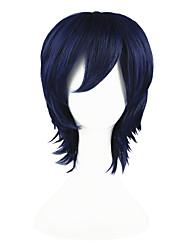 Bleach-Kugo Ginjo-Blauw-35-Cosplay Pruiken-