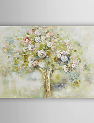Hand Painted Oil Painting Landscape Luxe Blooming Tree with Stretched Frame 7 Wall Arts®