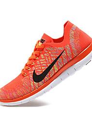 Nike Free RN 4.0 Flyknit Women's Running Shoe Sneakers Athletic Shoes Orange Purple Green