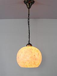 10 inch Retro Tiffany Pendant Lights Shell Shade Living Room Dining Room light Fixture