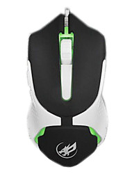 War Wolf 6D Wired Gaming Mouse 2400dpi for LOL/CF/DOTA Black/White