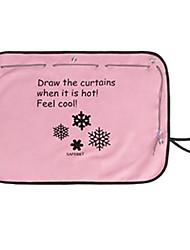 70 * 50 текстильная протектор авто curtainssun розовый