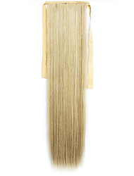 Green Straight Blending Long Straight Hair Wig Ponytails 60/613