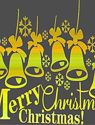 Natale / Romanticismo / Moda / Vacanze / 3D Adesivi murali Adesivi aereo da parete,vinyl 58*37cm
