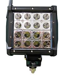 1PCS Engineering Truck LED Light Bar 6'' 80W Four Rows Super Bright Bulldozer LED Light Bar