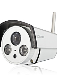 CTVMAN WIFI Bullet P2P IP Camera With Audio SD Card Slot & 2 Led Array Night Vision For Outdoor Surveillance