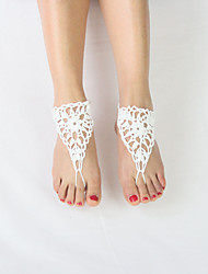 Anklet/Bracelet Others Unique Design Fashion Adjustable Adorable Fabric White Women's Jewelry 1 pair