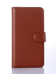PU portefeuille en cuir porte-téléphone en relief pour nokia lumia 950