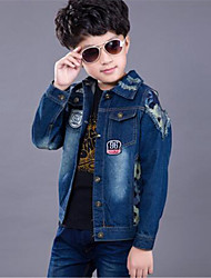 Boy's Cotton Jeans,Spring / Fall Print