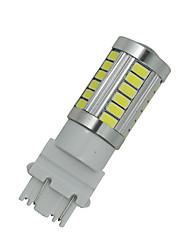 4x weißes Auto 3156 3157 33 5730 SMD LED Heckleuchten Bremsleuchte Glühlampe 12-24V F016