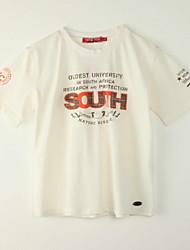 Jungen T-Shirt - Polyester Druck Sommer