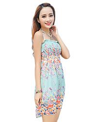 2016 Summer New Women's Bohemian Beach / Floral Dress