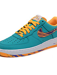 Nike Air Force 1 Round Toe / Sneakers / Casual Shoes / Running Shoes / Skateboarding Shoes Men's Wearproof Low-TopGray / Black / Blue /