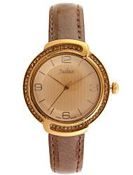 Julius® Women Watch Korea Fashion Big Dial Watch Rhinestone Waterproof Vogue Schoolgirl Wristwatch JA-690