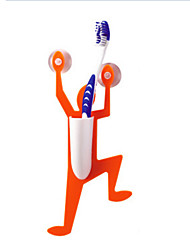 Bathroom Climbing Man Design Toothbrush Holder