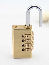 Cadeado para MalaForAcessório de Bagagem Metal Dourada 8.1*2.8*1.2