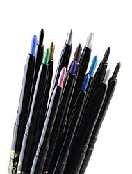 Eyeliner Crayons Matériel Longue Durée Naturel Noir Gris Marron Bleu Vert Doré Argenté Café Yeux 1 1 LOMEOU