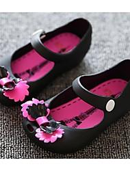 Zapatos de bebé-Planos-Casual-PVC-Negro / Rojo / Blanco