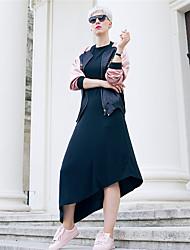 Hotgirl Women's Long Sleeve Asymmetrical Dress