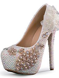 женская shoesstiletto каблук каблуки каблуки свадьба / партия&вечер / платье белое
