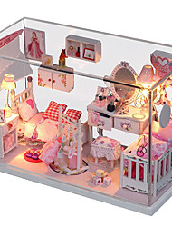 1PC Diy House Dreamlike Princess Creative Gifts A  Present Educational Toys Lights Led Lamp