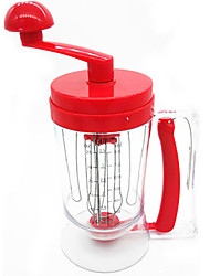 Manual Pancake Machine Breakfast Mixer Pancake Batter Dispenser Perfect Cupcakes Waffles