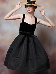 To My Fair Lady® Women's Deep U Sleeveless Above Knee Dress-1203010