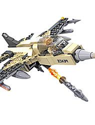 bloc de construction élevé, jouets éducatifs pour enfants blocs de construction air -13331 machine de combat