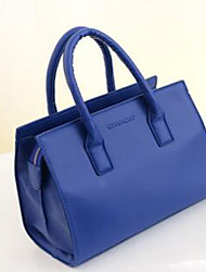 Women PU Professioanl Use Tote Beige / Blue / Black / Burgundy