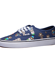 Vans x Line Friends Classics Authentic Men's Shoes Canvas Outdoor / Athletic / Casual Sneakers Flat Heel