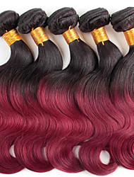 Top 8A Ombre body wave Hair Two Tone Hair Weave eunice Hair Products Colored Virgin Hair Ombre Bundles 12-30 inch