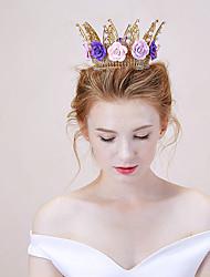 Mulheres Liga Capacete-Casamento Tiaras 1 Peça