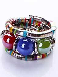 Bracelet Bracelets Rigides / Bracelets de rive Alliage Others Mode / Bohemia style Quotidien / Décontracté Bijoux CadeauBleu foncé /
